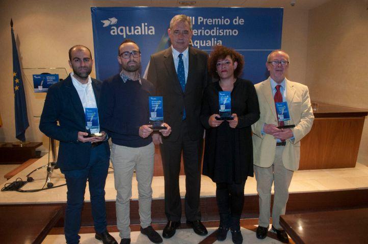 El periodismo medioambiental se reivindica en el III Premio de Periodismo Aqualia