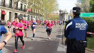 Imagen de archivo de la media maratón de Madrid