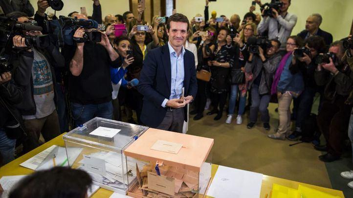 El PP de Pablo Casado perdería la mitad de los escaños obtenidos en Madrid en 2016