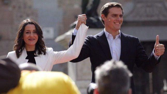 Cs se ha convertido en segunda fuerza en la Comunidad de Madrid, por detrás del PSOE.