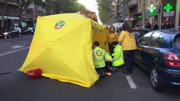 Muy grave una joven atropellada en la calle Orense