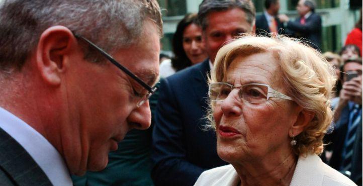 Carmena le pisa los talones a Gallardón y ya es la segunda mejor alcaldesa según el 'CIS madrileño'