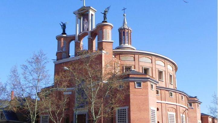 La iglesia parroquial de San Agustín, en el Viso, declarada Bien de Interés Cultural.