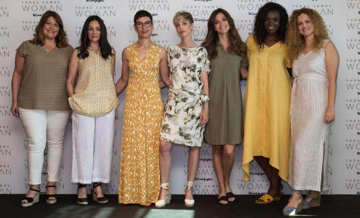 Trabajadoras de El Corte Inglés que protagonizan la nueva campaña de Woman.
