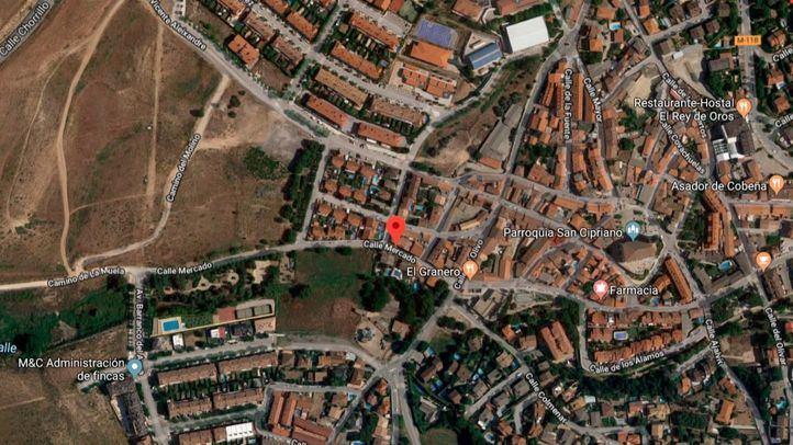 La reyerta en la que murió un joven de 20 años tuvo lugar en la calle Mercado de Cobeña.