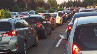 Varias autovías de Madrid registran retenciones este 1 de mayo por la operación salida del puente.