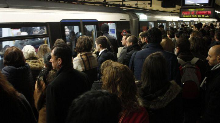 Nuevos paros de Metro en el puente de mayo