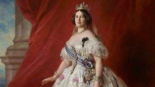 La reina Isabel II, retratada por Franz Xaver Winterhalter.