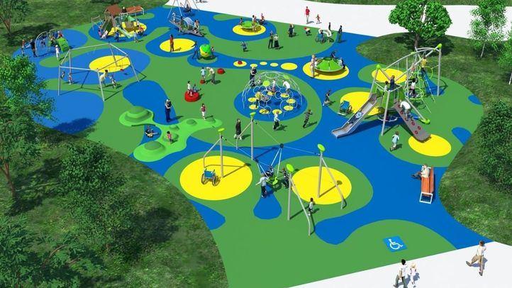 Proyecto de rehabilitación del parque de La Gavia