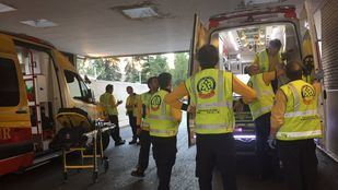 Técnicos de emergencias del SAMUR