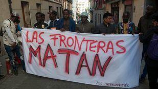Madrid participa en el 'Abrazo de los Pueblos' contra el racismo y fascismo