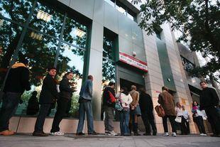 El paro bajó en Madrid un 1,7 por ciento en el mes de abril