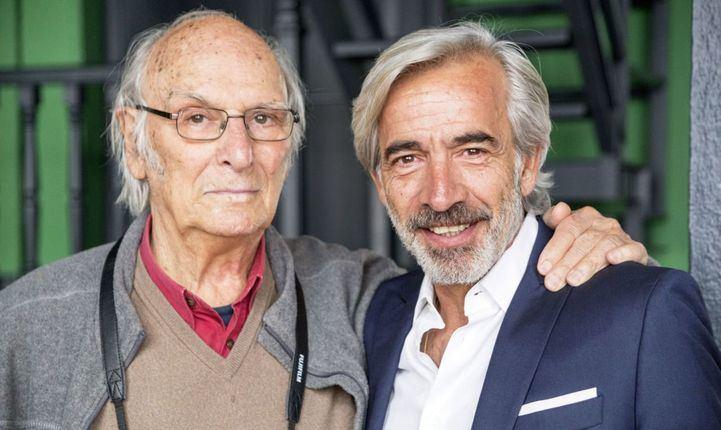 Carlos Saura e Imanol Arias