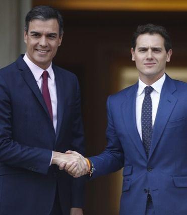 Rivera descarta un pacto de legislatura con Sánchez