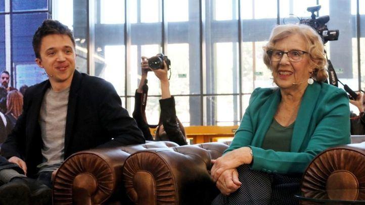 Manuela Carmena e Íñigo Errejón en una imagen de archivo