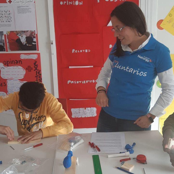 Los más pequeños defienden sus propuestas para una movilidad sostenible