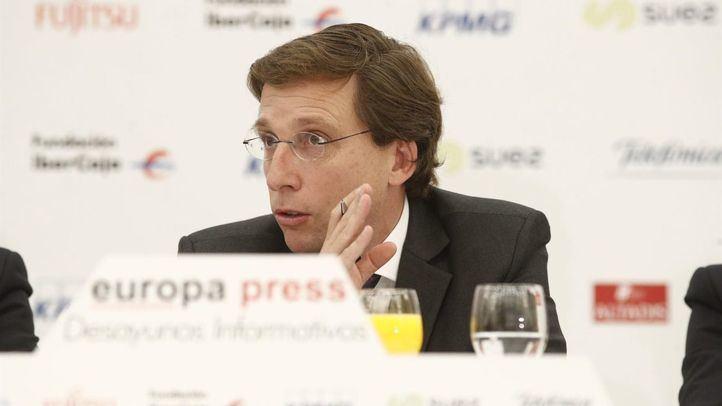 José Luis Martínez Almeida en los desayunos de Europa Press