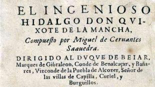 Se publica la primera parte de El Ingenioso Hidalgo don Quijote de la Mancha