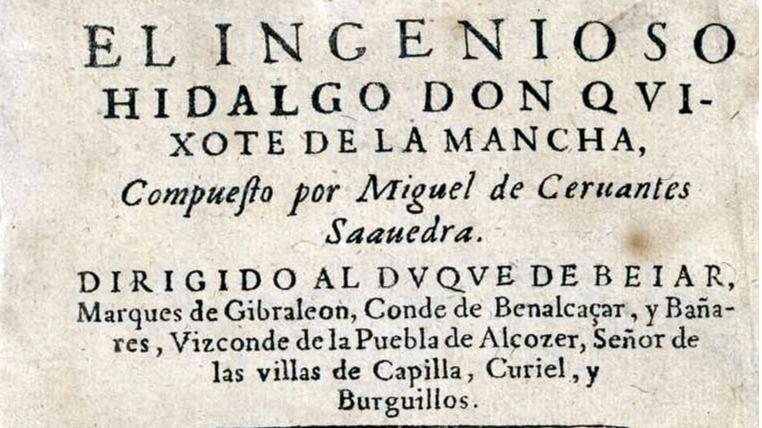 Se Publica La Primera Parte De El Ingenioso Hidalgo Don Quijote De La Mancha Madridiario