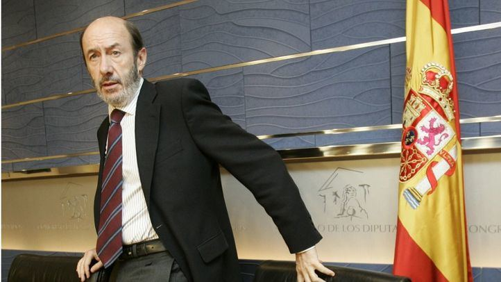 Alfredo Pérez Rubalcaba sufrió este miércoles un ictus.