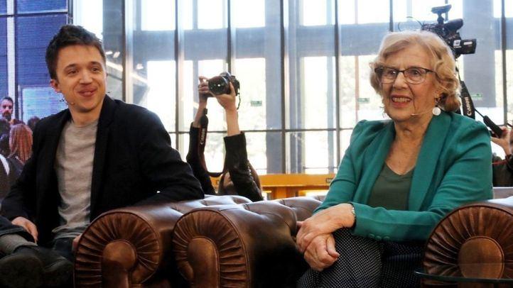 Carmena podrá debatir, pero se mantiene el veto a Errejón
