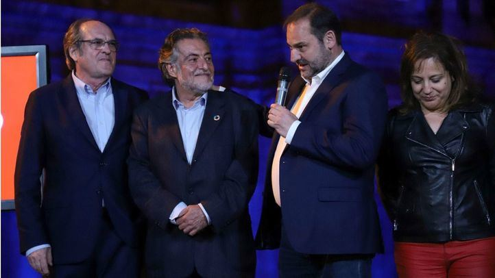 Ángel Gabilondo, Pepu Hernández, José Manuel Ábalos e Iratxe Garper