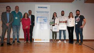 El CEIP La Marina (Comunidad Valenciana) y el CRA Villayón (Asturias) han sido los premiados en el V Encuentro de Profesores Samsung Smart School.