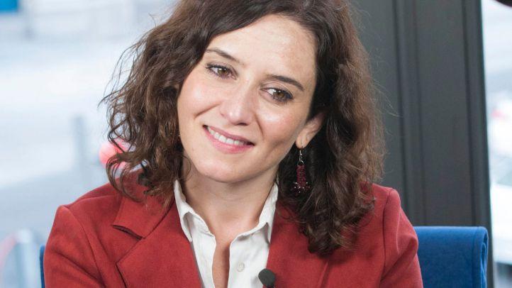 Isabel Díaz Ayuso, candidata del PP a las elecciones autonómicas de Madrid.