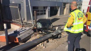 Fallece una mujer tras ser arrollada por un coche que ha perdido el control