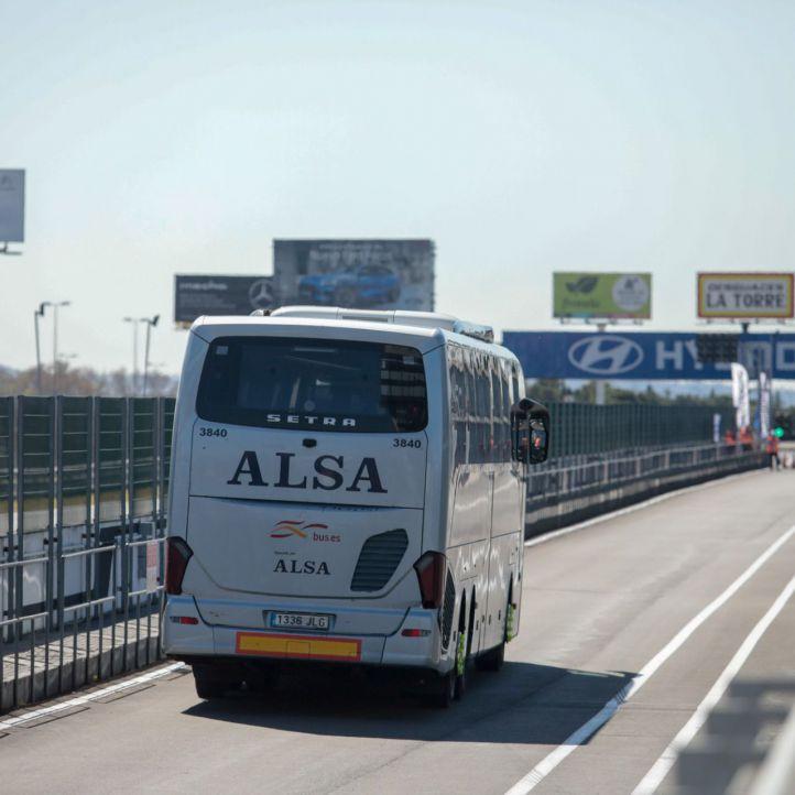 Eco Driving Challenge de ALSA en el circuito del Jarama