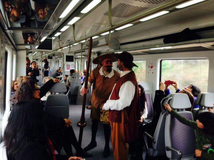 El tren de Cervantes apuesta por las artes escénicas en 2019