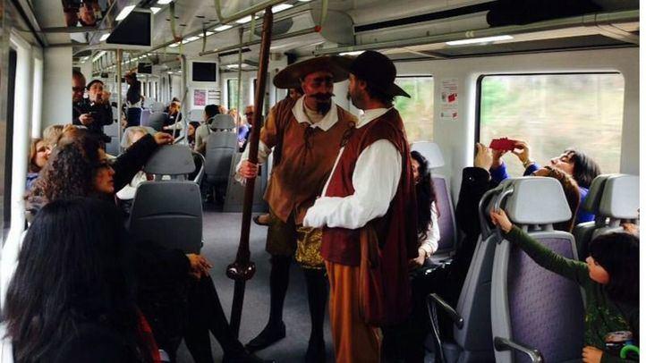 Tren Cervantes en la edición pasada