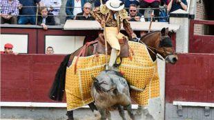 La gran actuación del picador Juan Francisco Peña, único destacado de un festejo gris