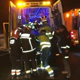 Una colisión de tres coches deja seis heridos en Navalcarnero