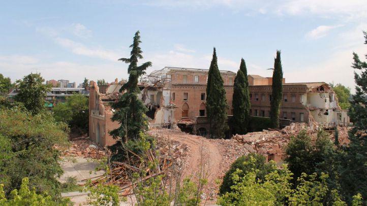 Estado actual del Convento de las Damas Apostólicas