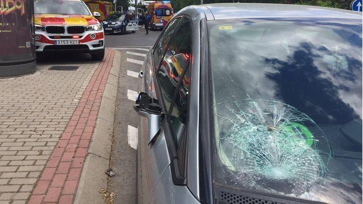 Herido grave un hombre tras ser atropellado en Moratalaz