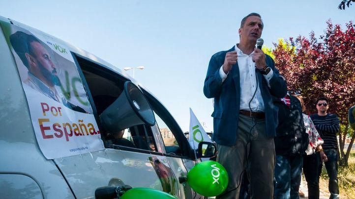 Javier Ortega-Smith, candidato de Vox a la Alcaldía de Madrid.