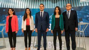 Así le hemos contado el primer debate de los candidatos a la Presidencia de la Comunidad de Madrid