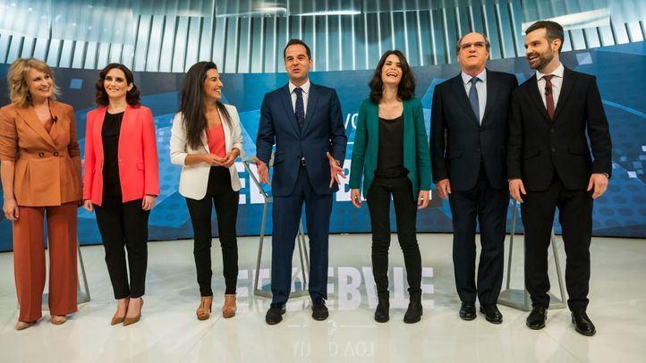 Aguado gana un debate centrado en la batalla por el voto útil y los ataques a Gabilondo