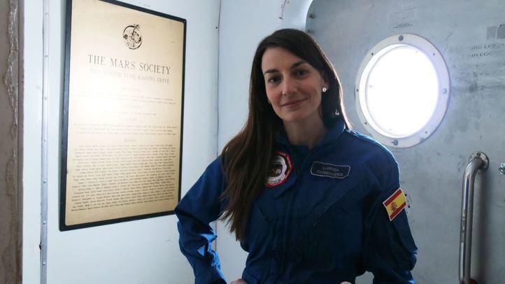 Natalia Larrea lidera una misión simulada a Marte en el Mars Desert Research Station.