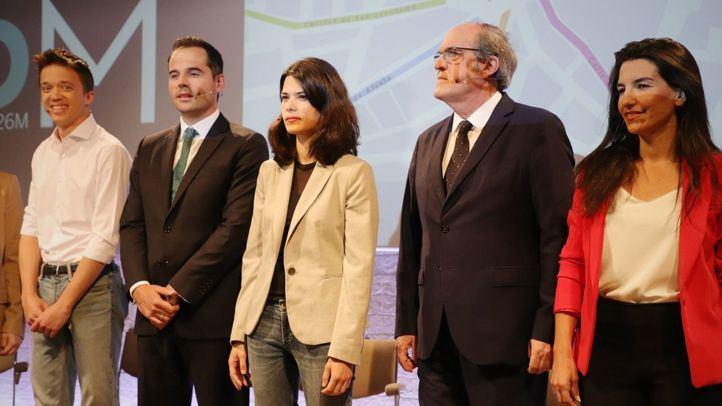 Debate de los candidatos a la Presidencia de la Comunidad de Madrid.