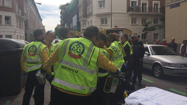 Herido grave un hombre tras ser atropellado en Chamberí