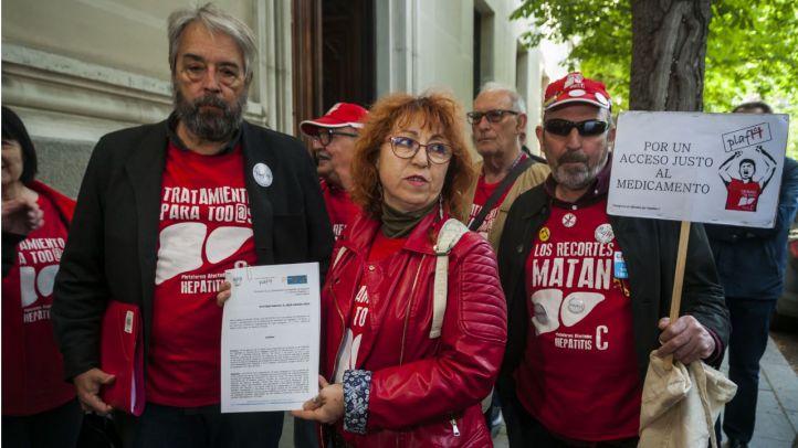 Afectados por la Hepatitis C piden a la Fiscalía que investigue los cinco contagios del Marañón