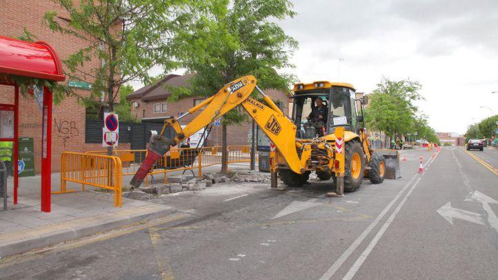 Arranca la remodelación integral de las calles Isaac Albéniz y Lugo en Alcobendas