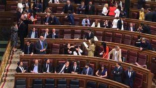 Vox se atribuye la primera osadía de la legislatura