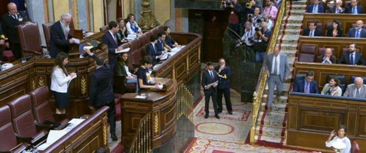 Los presos catalanes y Vox, protagonistas en el Congreso
