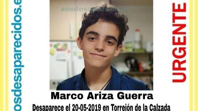 Desaparecido en Torrejón de la Calzada un chico de 15 años