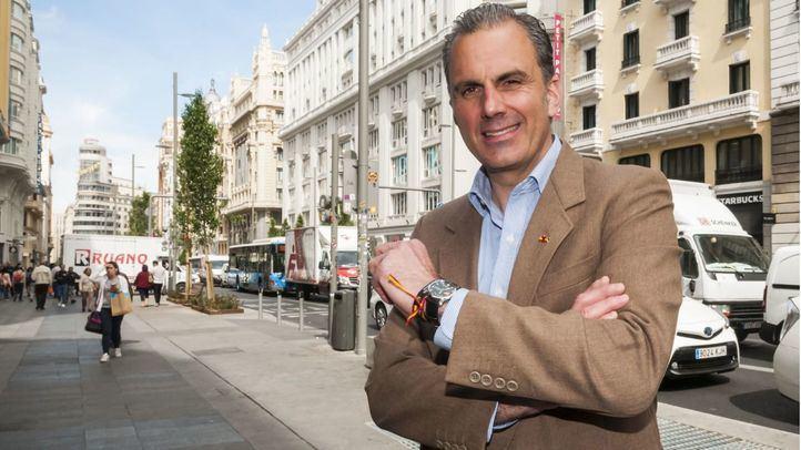 Javier Ortega Smith, candidato de Vox al Ayuntamiento de Madrid