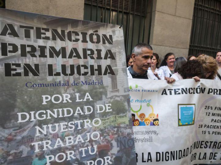 Los sindicatos cifran en un 75% el seguimiento de la huelga de Atención Primaria