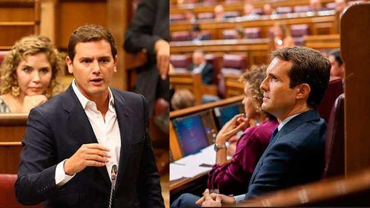¿Nuevo líder de la oposición?: Rivera 'pasa por encima' de Casado